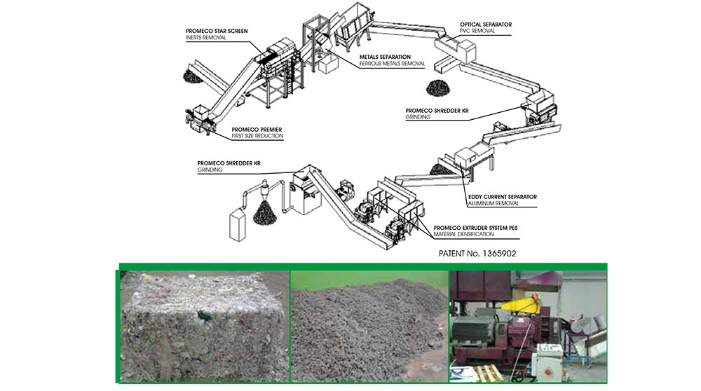 from waste pulper to rdf pellet